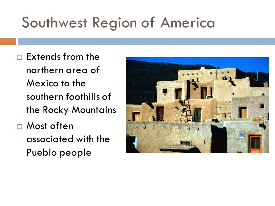 Southwest Region of America