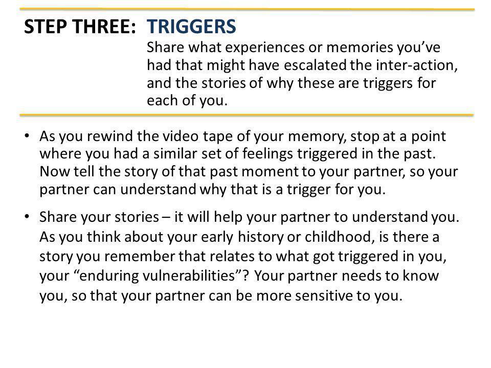 Step Three: Triggers