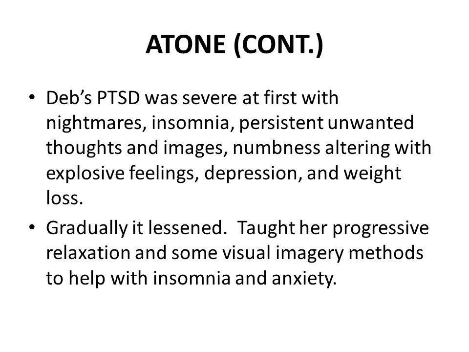 ATONE (CONT.)