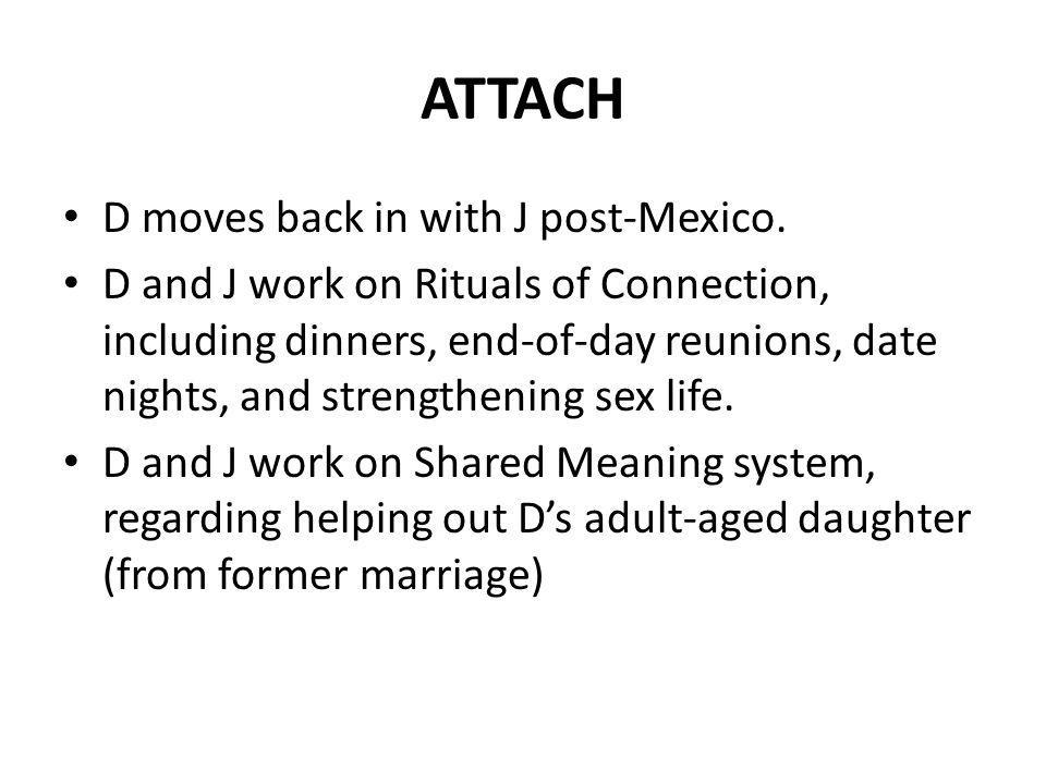 ATTACH D moves back in with J post-Mexico.