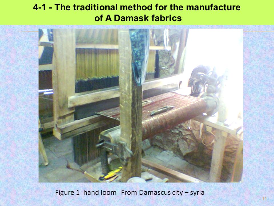 4-1 - The traditional method for the manufacture
