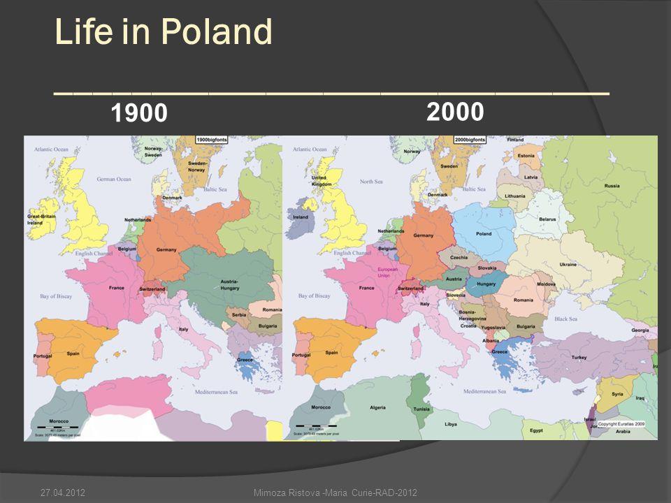 Life in Poland _____________________________