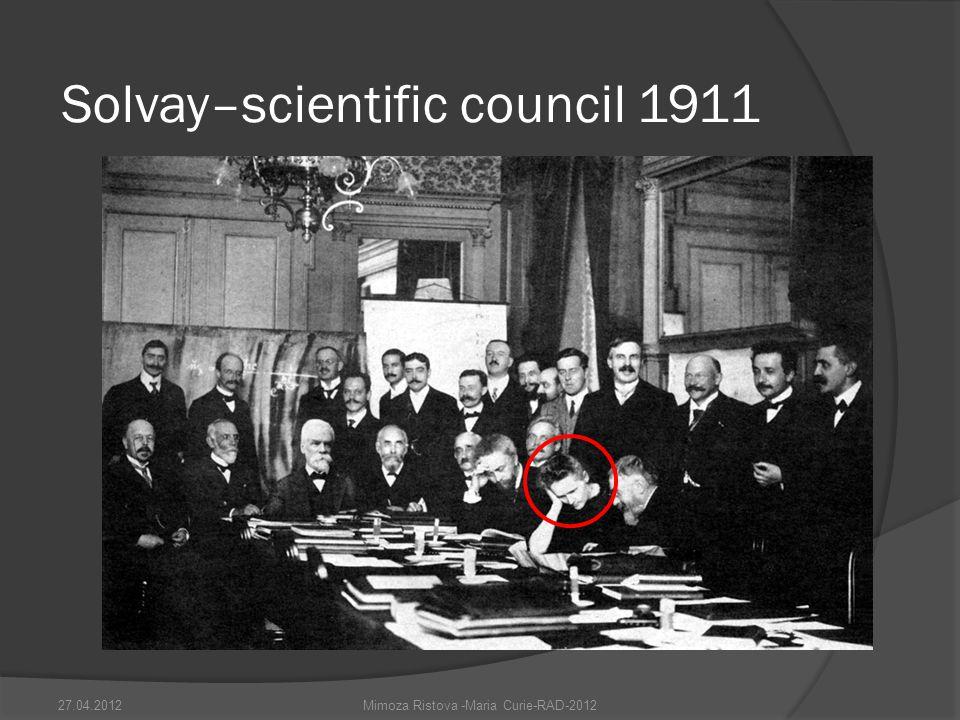Solvay–scientific council 1911