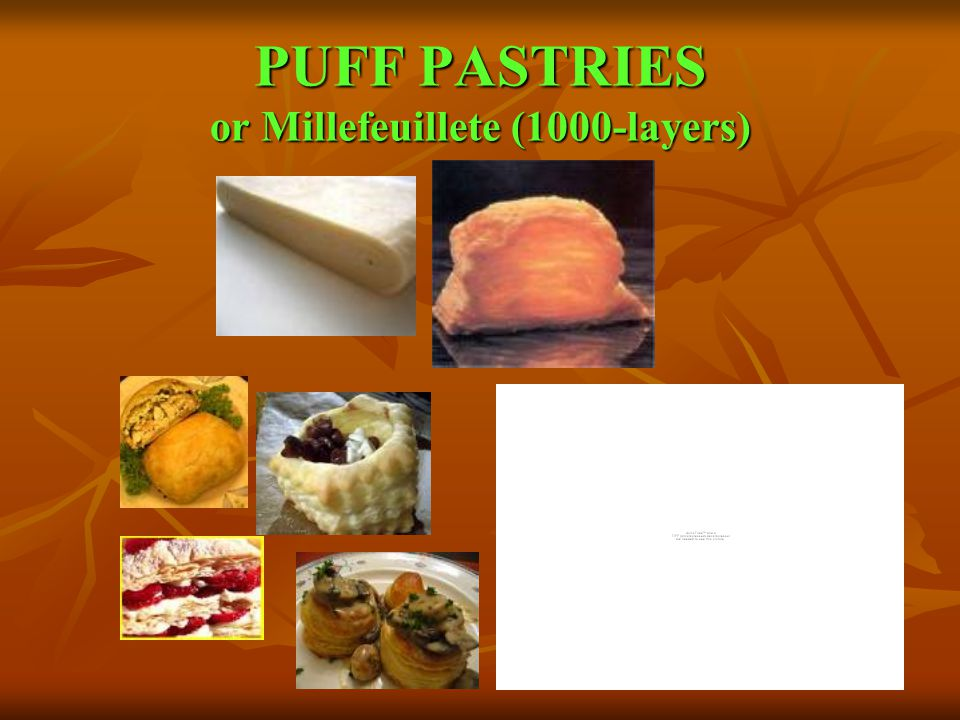 PUFF PASTRIES or Millefeuillete (1000-layers)