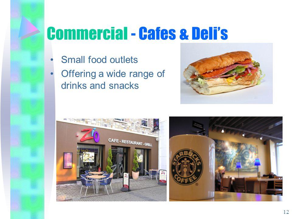 Commercial - Cafes & Deli's
