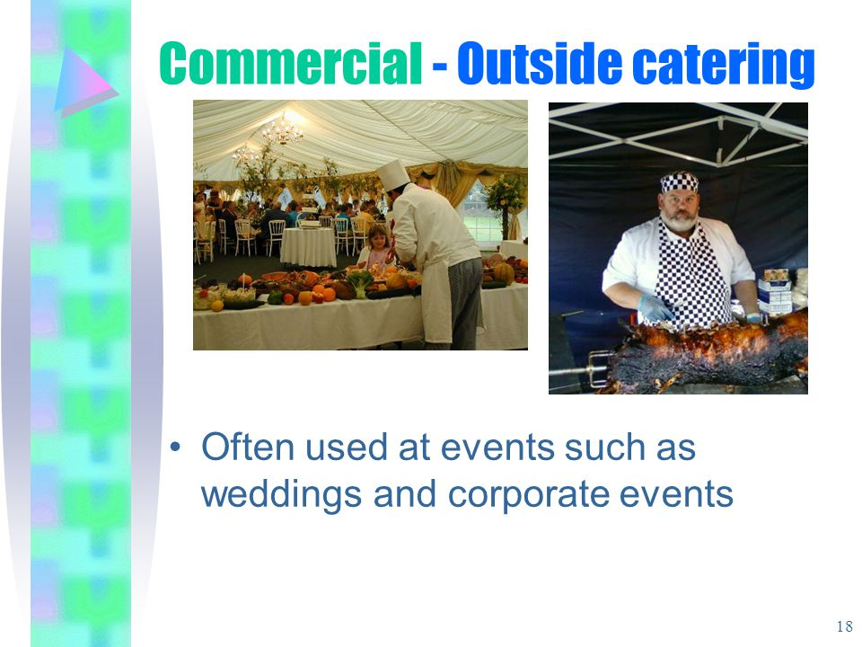 Commercial - Outside catering