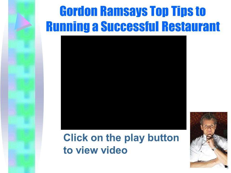 Gordon Ramsays Top Tips to Running a Successful Restaurant