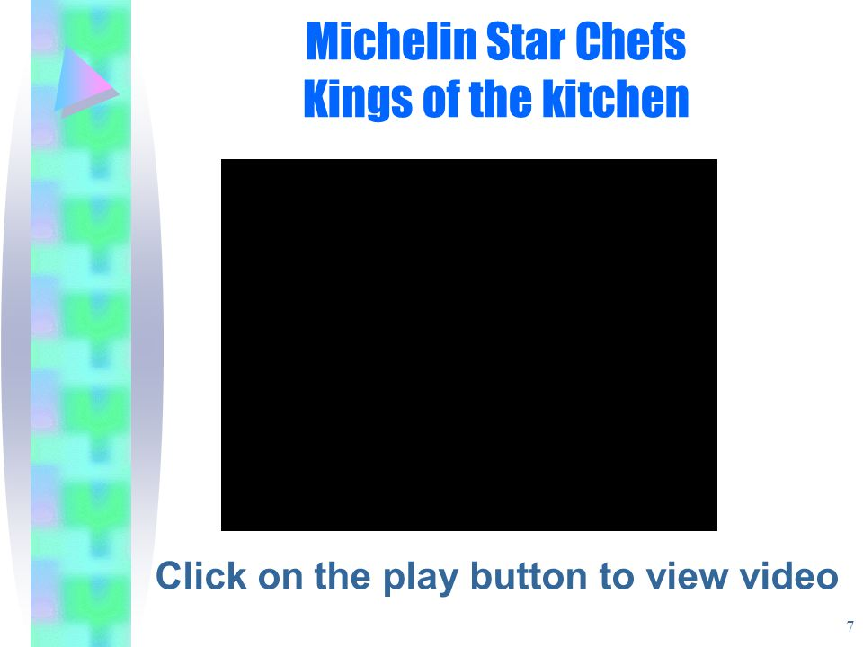 Michelin Star Chefs Kings of the kitchen