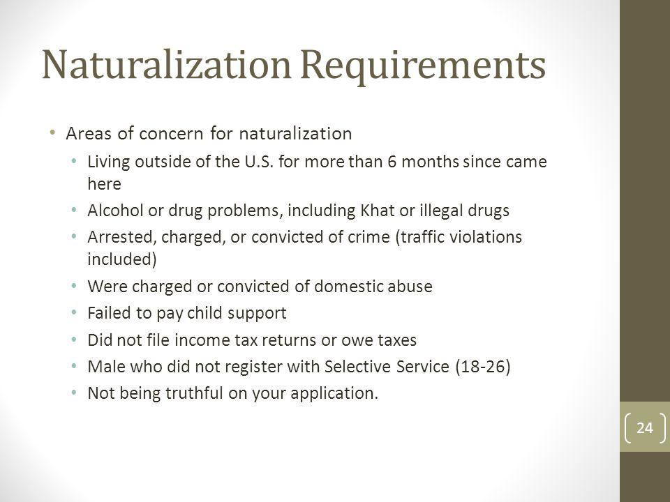 Naturalization Requirements