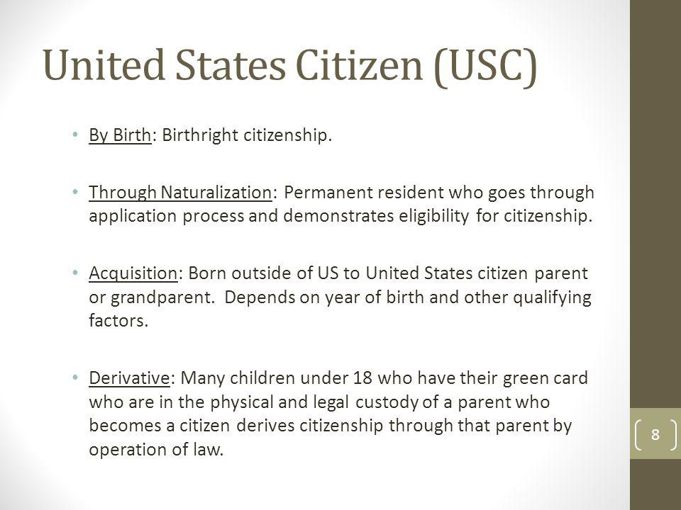 United States Citizen (USC)