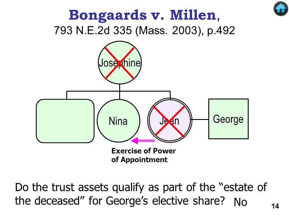 Bongaards v. Millen, 793 N.E.2d 335 (Mass. 2003), p.492
