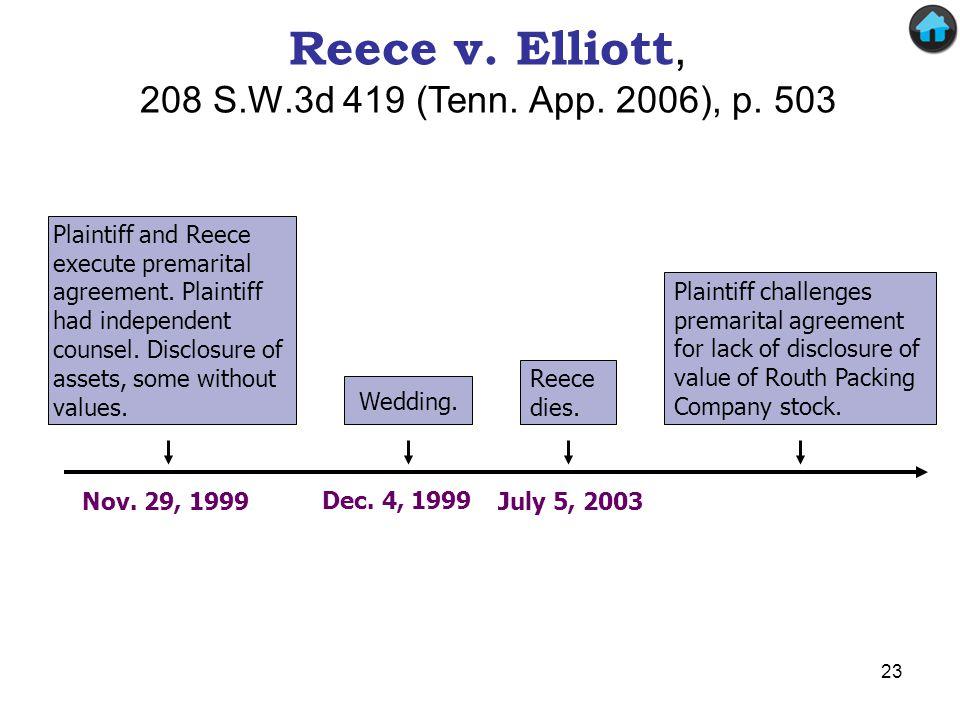 Reece v. Elliott, 208 S.W.3d 419 (Tenn. App. 2006), p. 503