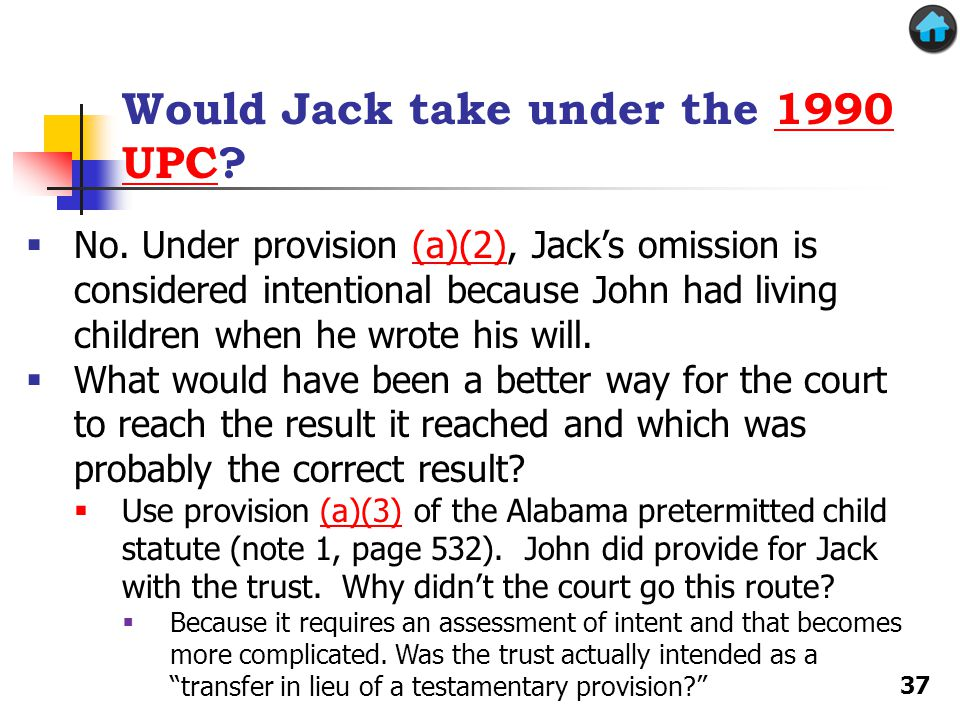 Would Jack take under the 1990 UPC