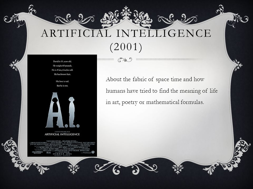 Artificial Intelligence (2001)