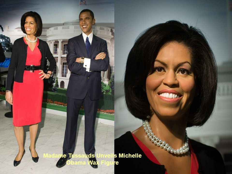 Madame Tussauds Unveils Michelle Obama Wax Figure
