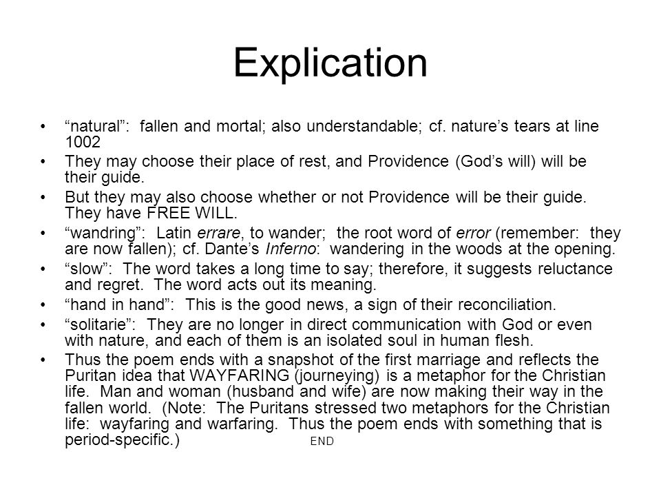 Explication natural : fallen and mortal; also understandable; cf. nature's tears at line 1002.