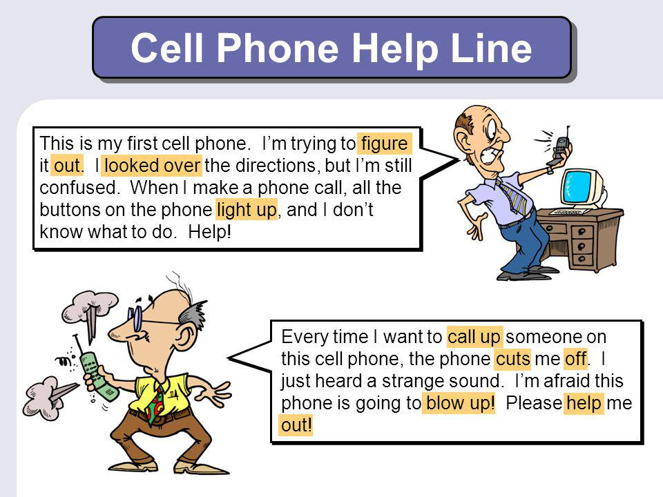 Cell Phone Help Line