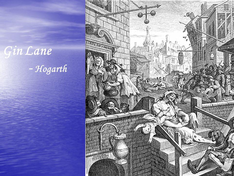 Gin Lane - Hogarth.