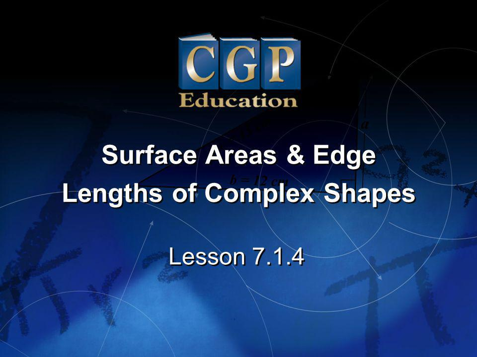 Lengths of Complex Shapes