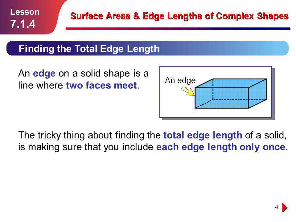 7.1.4 Finding the Total Edge Length