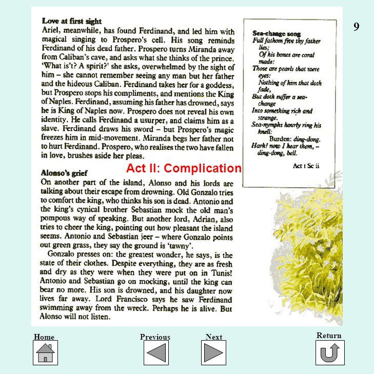 9 Act II: Complication