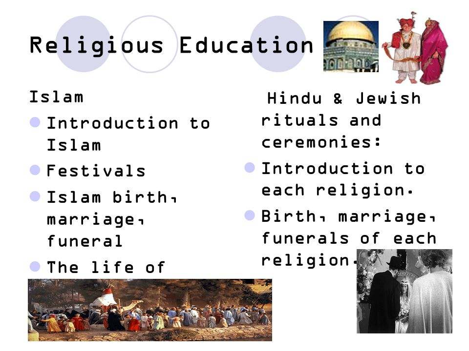 Religious Education Islam Introduction to Islam Festivals