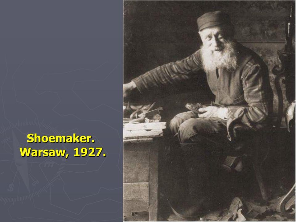 Shoemaker. Warsaw, 1927. 71
