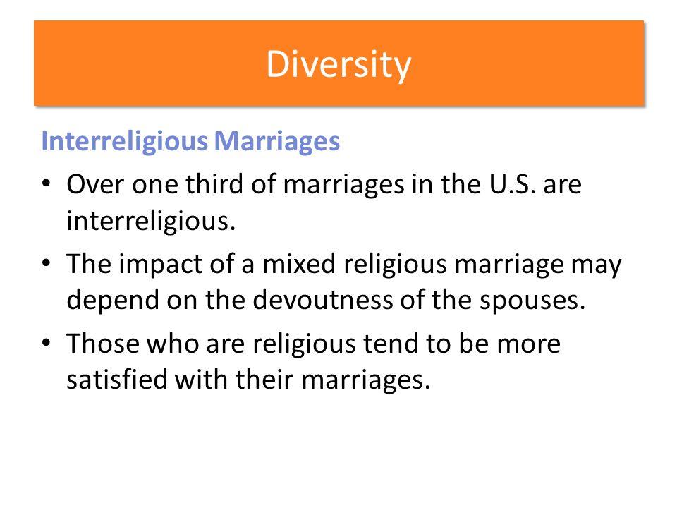 Diversity Interreligious Marriages