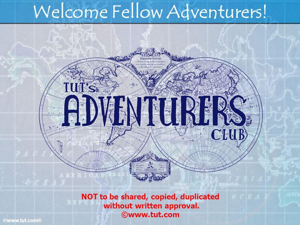 Welcome Fellow Adventurers!