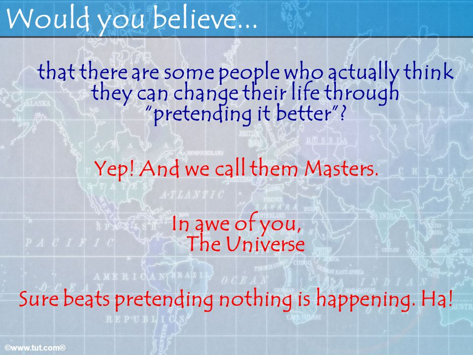 Would you believe... Yep! And we call them Masters.
