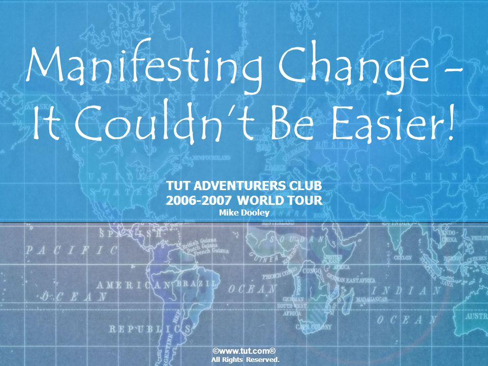 Manifesting Change - It Couldn't Be Easier!