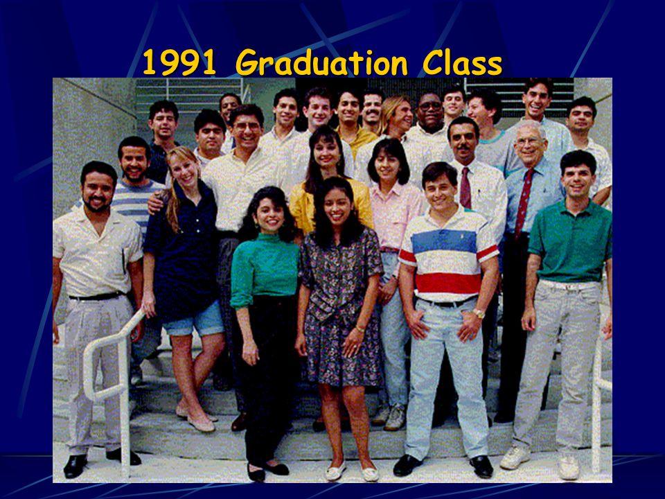 1991 Graduation Class