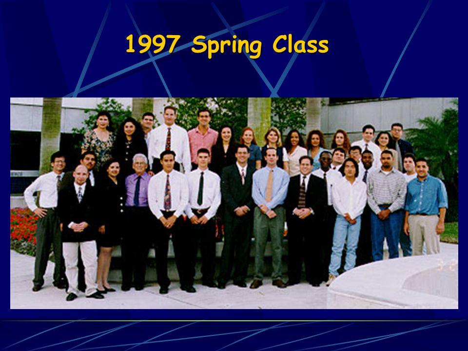 1997 Spring Class