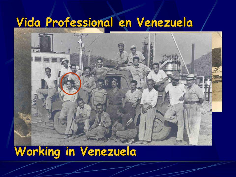 Vida Professional en Venezuela
