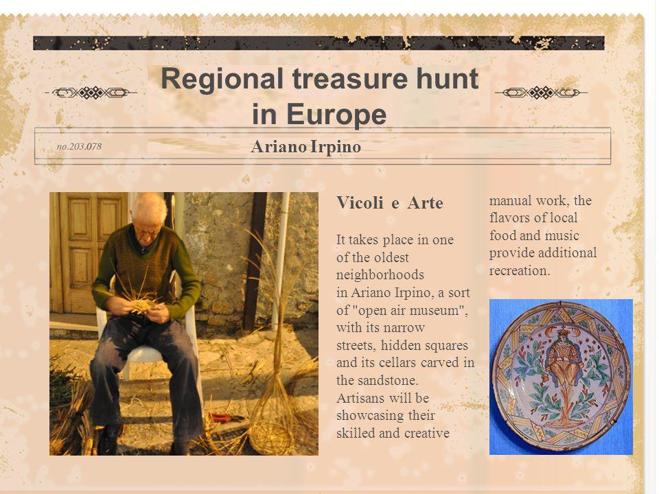 Regional treasure hunt