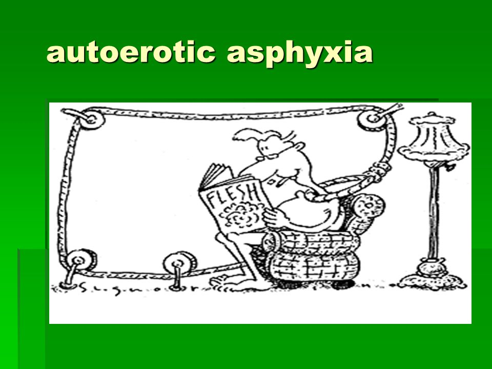autoerotic asphyxia