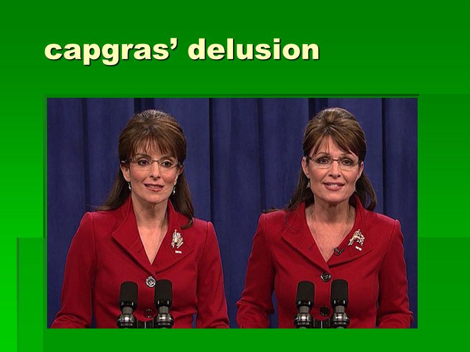capgras' delusion