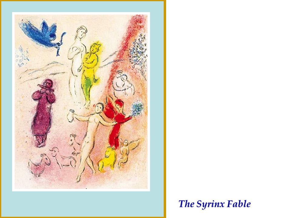The Syrinx Fable