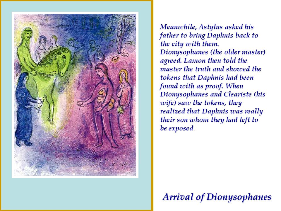 Arrival of Dionysophanes