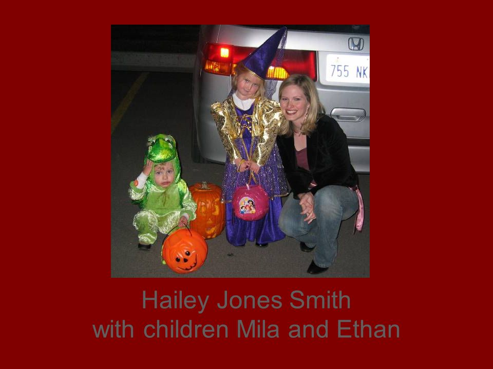 Hailey Jones Smith with children Mila and Ethan
