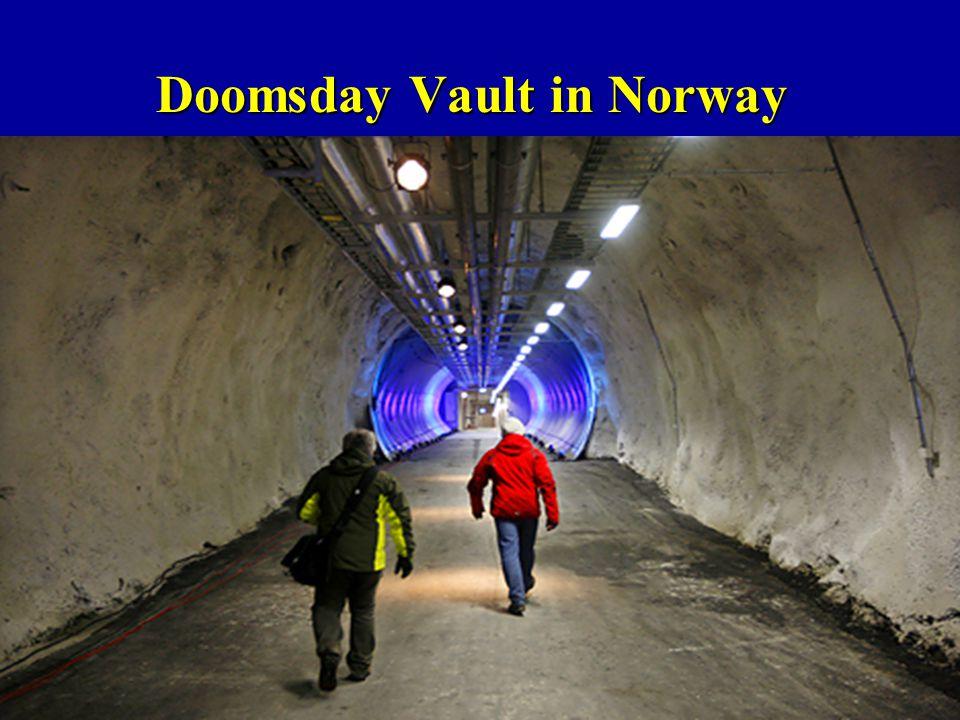 Doomsday Vault in Norway