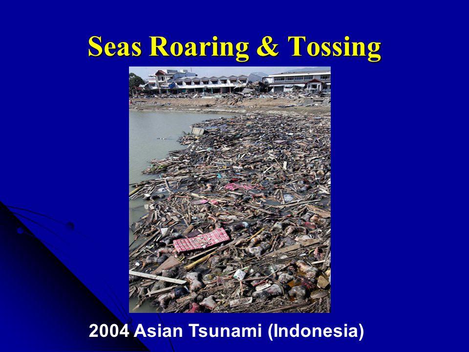 Seas Roaring & Tossing 2004 Asian Tsunami (Indonesia)
