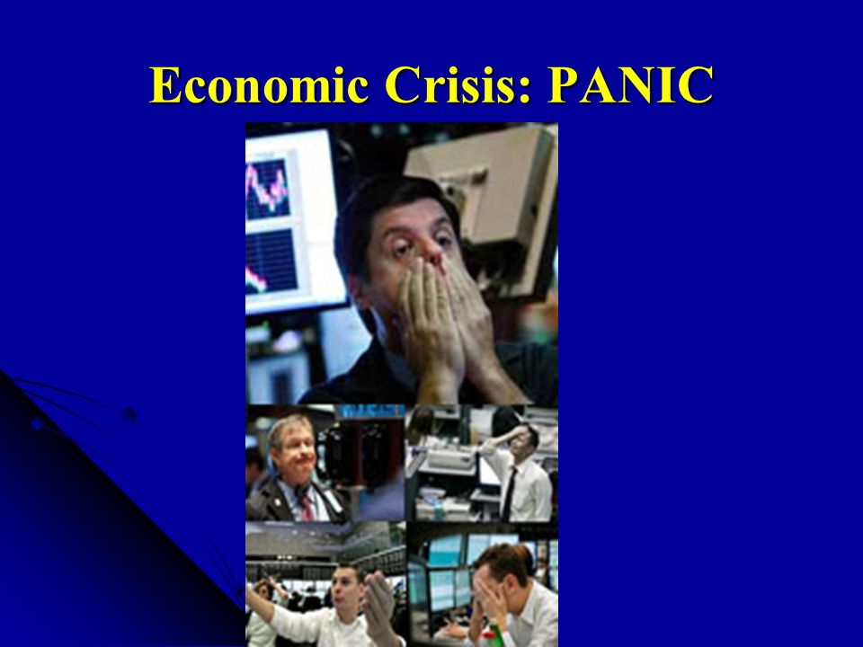 Economic Crisis: PANIC
