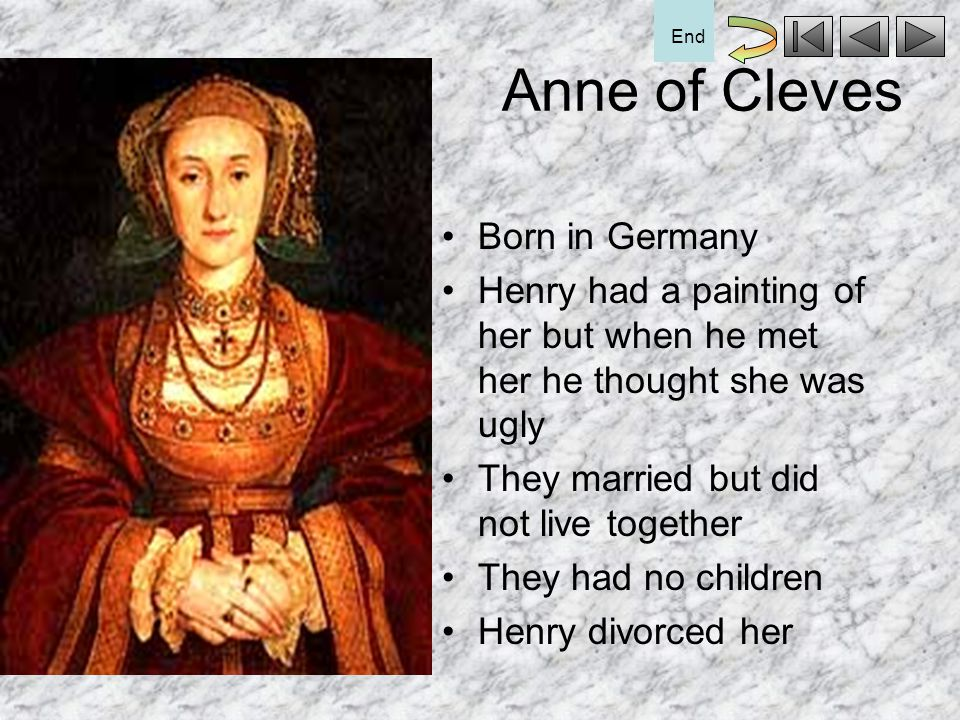 Anne of Cleves Born in Germany