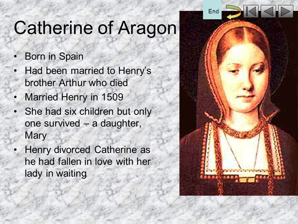 Catherine of Aragon Born in Spain
