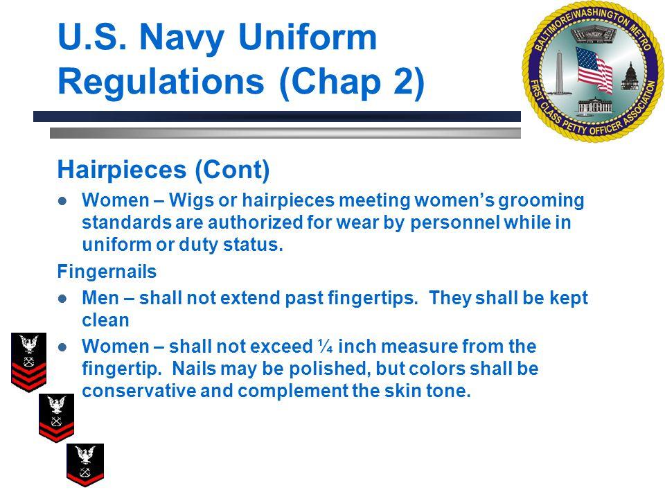 U.S. Navy Uniform Regulations (Chap 2)