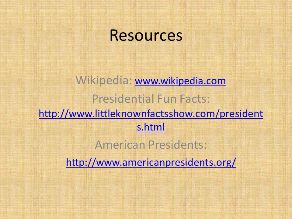 Wikipedia: www.wikipedia.com