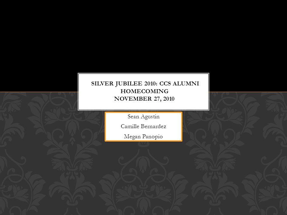 Silver Jubilee 2010: CCS Alumni Homecoming november 27, 2010