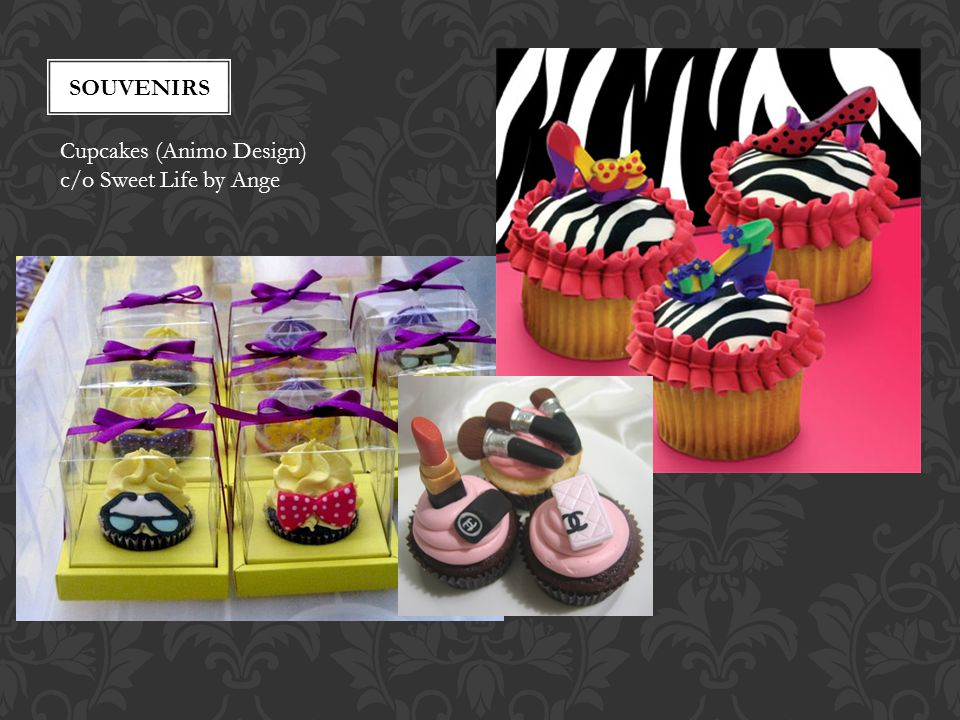 souvenirs Cupcakes (Animo Design) c/o Sweet Life by Ange