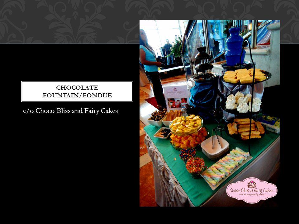 chocolate fountain/fondue